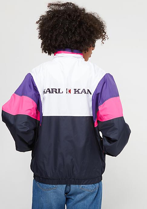 Karl Kani Retro Windrunner white/pink/blue