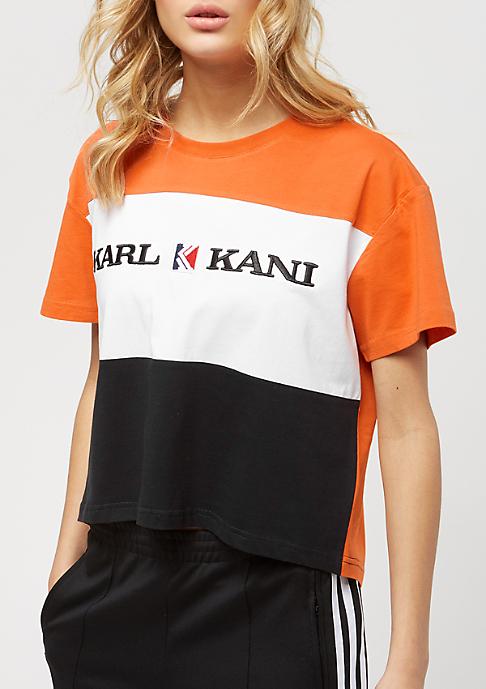 Karl Kani Block orange/white/black