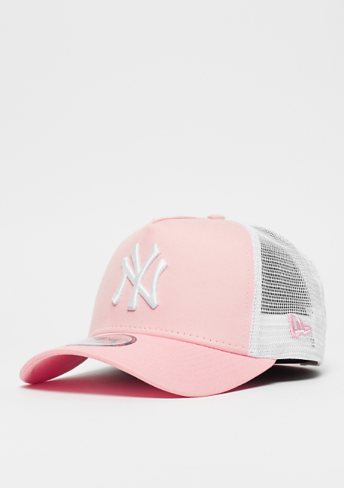 New Era 9Forty MLB New York Yankees Trucker white/pink