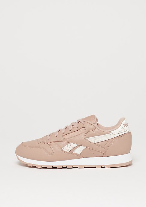 Reebok Classic Leather sidestripes-bare beige/white