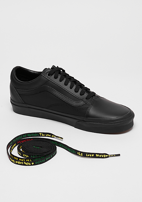 VANS UA Old Skool x A Tribe Called Quest black/red