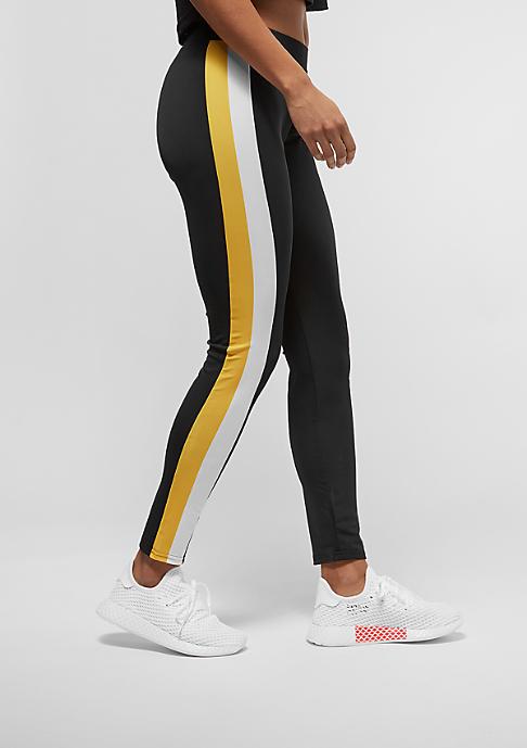 Urban Classics Side Stripe black/white/chrome yellow