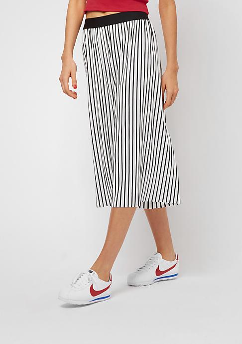 Urban Classics Stripe Pleated white/black