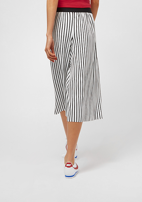 Urban Classics Stripe Pleated white/black
