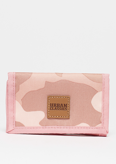 Urban Classics Wallet rose camo