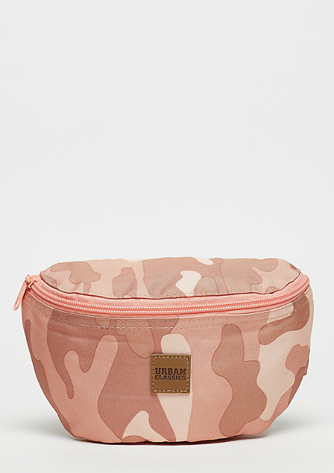 Urban Classics Camo Hip Bag rose camo