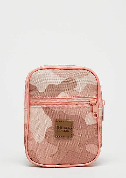Urban Classics Festival Bag Small rose camo