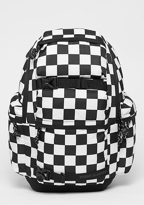 Urban Classics Checker black/white