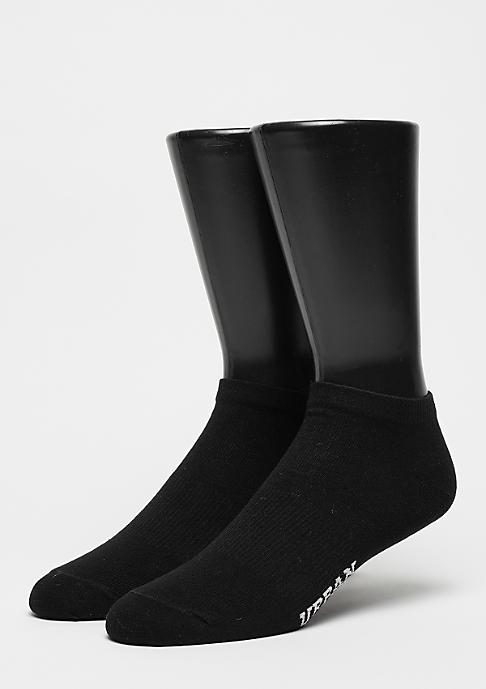 Urban Classics Logo Invisble Socks black