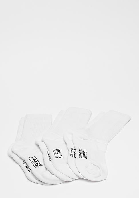 Urban Classics Logo Sport Socks white