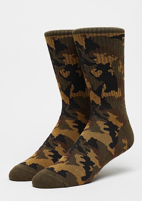 Urban Classics Camo Socks wood camo