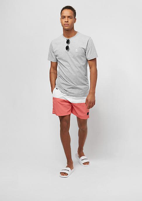 Urban Classics Color Block coral/black/white