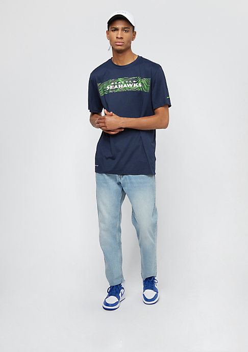 NIKE Seatlle Seahawks LGD Onfield Seismic college navy
