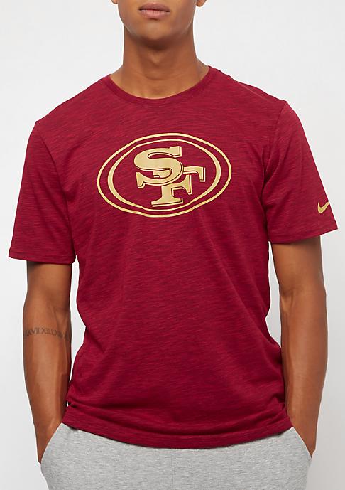NIKE San Francisco 49ers DFCT Slub gym red
