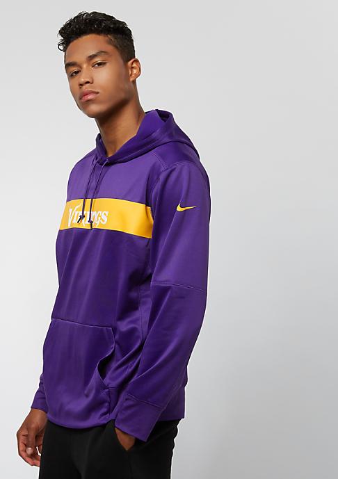 NIKE Minnesota Vikings Thrma court purple/court purple/gold