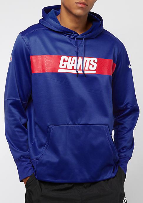 NIKE New York Giants Thrma rush blue/rush blue/white