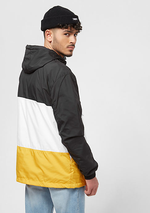 Urban Classics Color Block black/chromeyellow/white