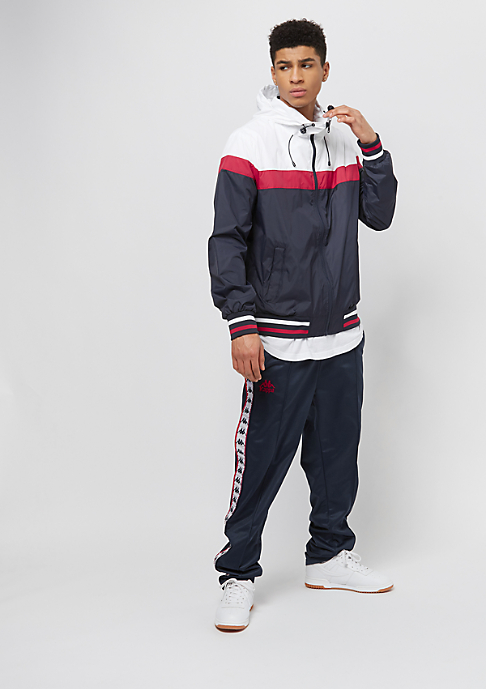 Urban Classics College navy/white/firered