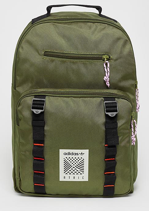 adidas Backpack S olive cargo