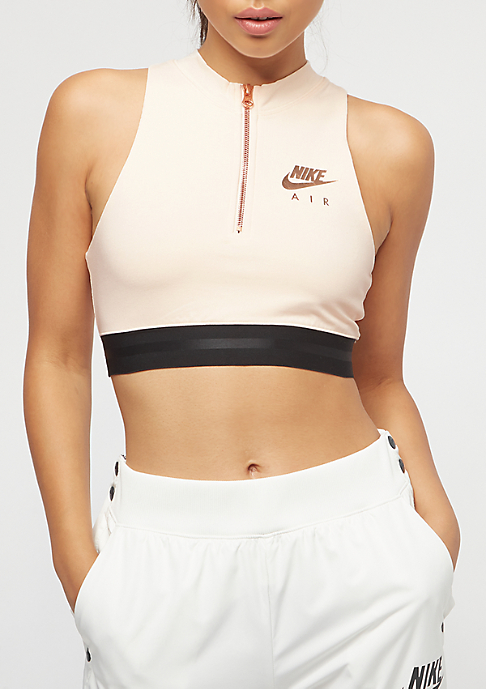 NIKE Air Crop guava ice/rose gold/black