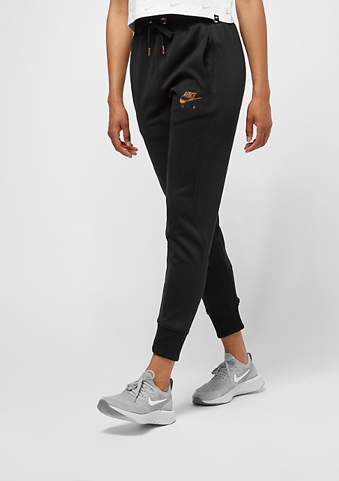 NIKE Air Jogger black/rose gold/black