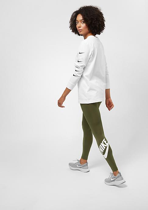NIKE Leg A See olive canvas/white