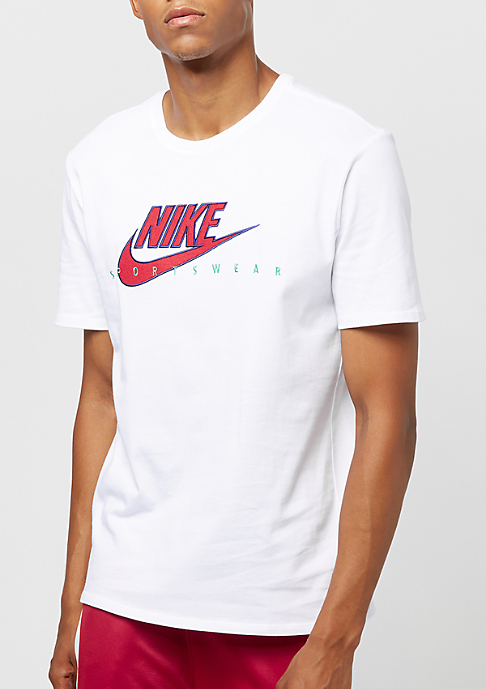 NIKE Archive 9 white/university red