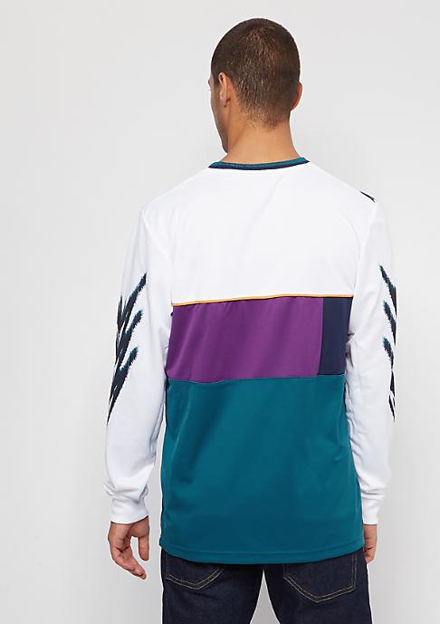adidas Tennis white/tribe purple/real teal