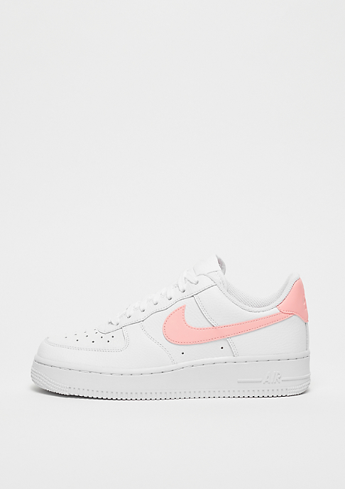 NIKE Wmns Air Force 1 white/oracle pink-white