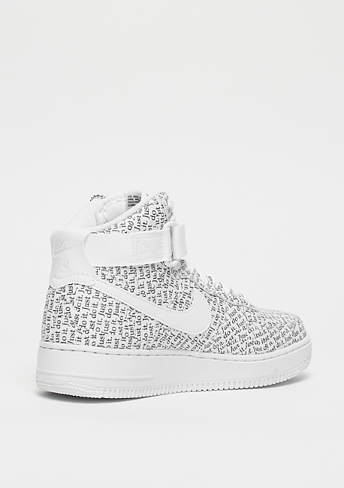 NIKE Wmns Air Force 1 High LX white/white-white-black