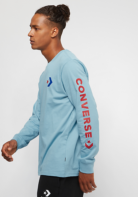 Converse Star Chevron Wordmark shoreline blue
