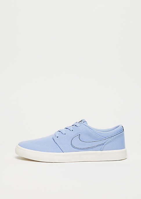 NIKE SB Wmns Solarsoft Portmore II royal tint/royal tint-ivory-red crush