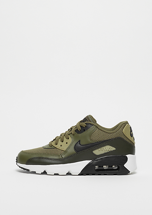 NIKE Air Max 90 Mesh (GS) medium olive/black-sequoia-neutral olive