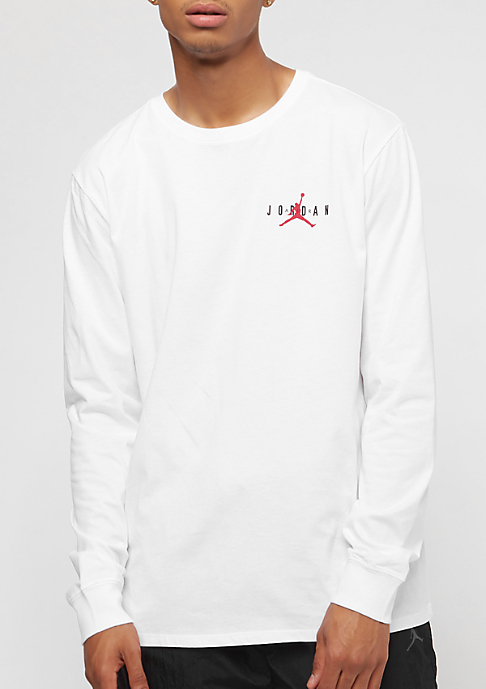 JORDAN Air GX white/gym red