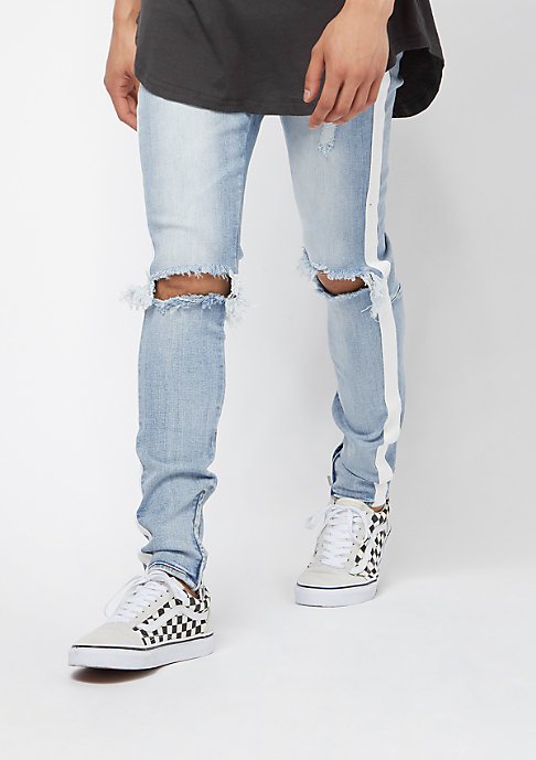 Sixth June Denim With Unicolor Bands blue