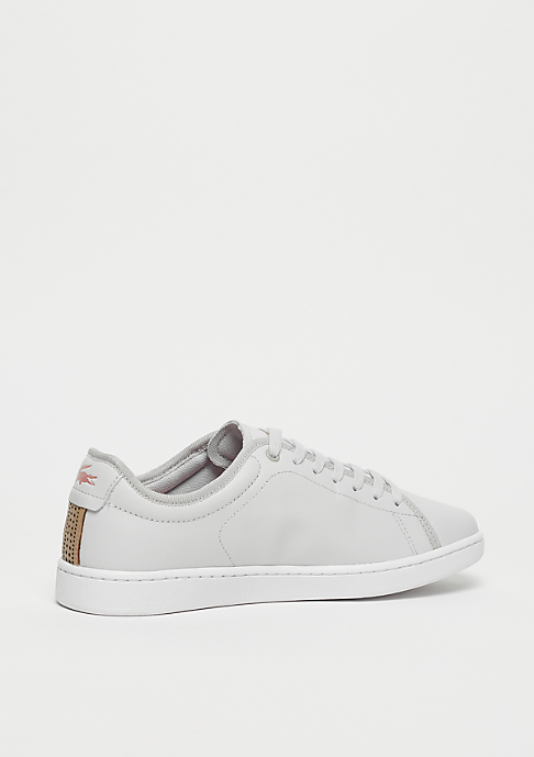 Lacoste Carnaby EVO Slip 318 1 spw light grey/white