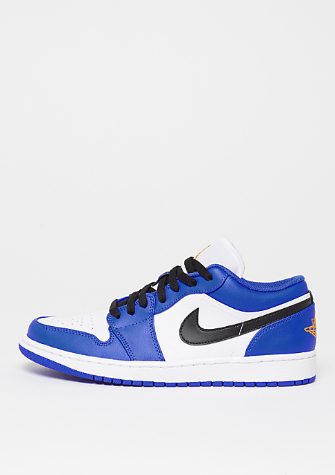 JORDAN Air Jordan 1 Low hyper royal/orange peel white black