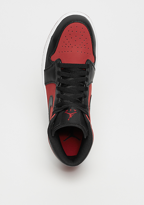 JORDAN Air Jordan 1 Mid gym red/black/white