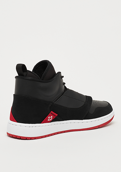 JORDAN Jordan Fadeaway black/white/gym red
