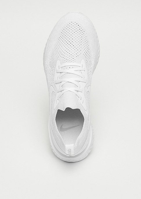 NIKE Running Epic React Flyknit true white/white/pure platinum