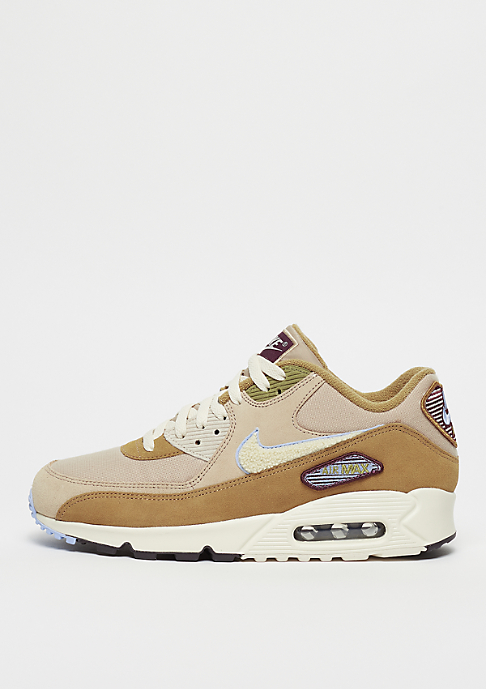 NIKE Air Max 90 Premium SE muted bronze/light cream/royal tint