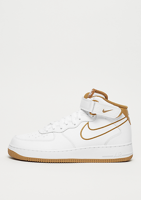 NIKE Air Force 1 Mid '07 Leather white/muted bronze