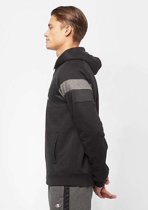 Champion Sweatsuit Hooded Full Zip black/heather grey/heather grey