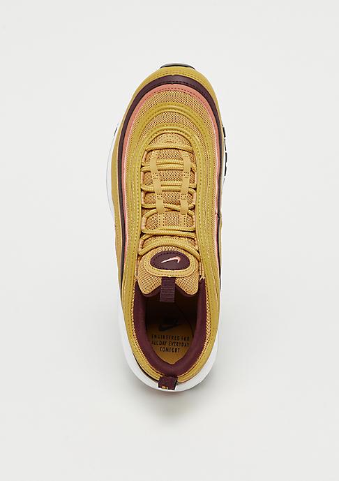 NIKE Air Max 97 wheat gold/terra blush-burgundy crush