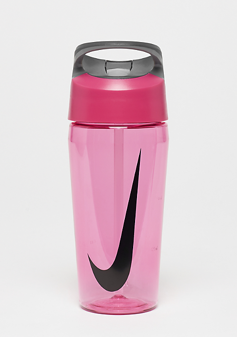 NIKE Hypercharge Straw Bottle 473ml vivid pink/cool grey/black