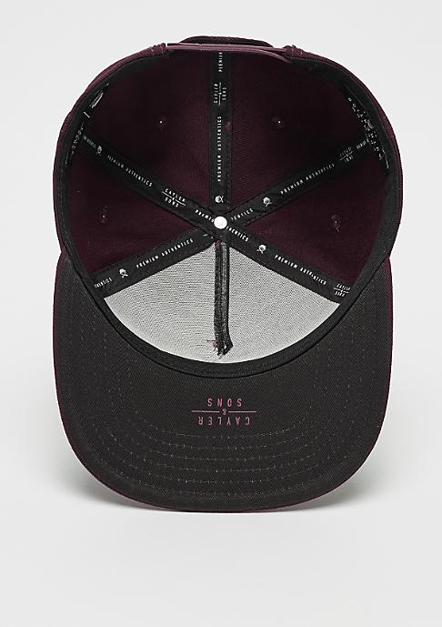 Cayler & Sons PA Icon bordeaux/black