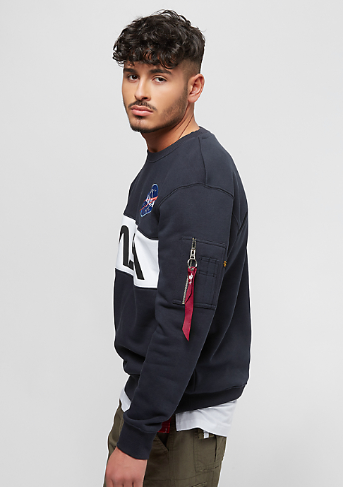Alpha Industries NASA Inlay rep.blue