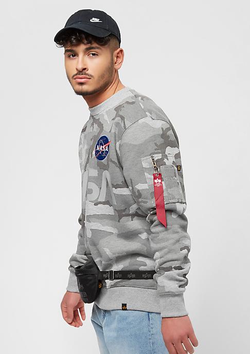 Alpha Industries NASA Reflective grey camo