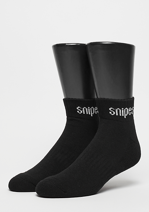 SNIPES 2er Basic Ankle black