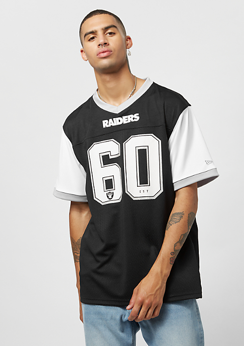 New Era Tri-Colour Tee NFL Oakland Raiders white